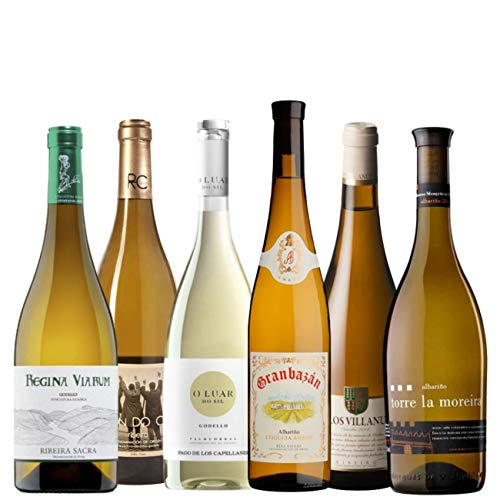 Selección de Vinos Blancos Gallegos   PACK 6 Botellas 75cl.