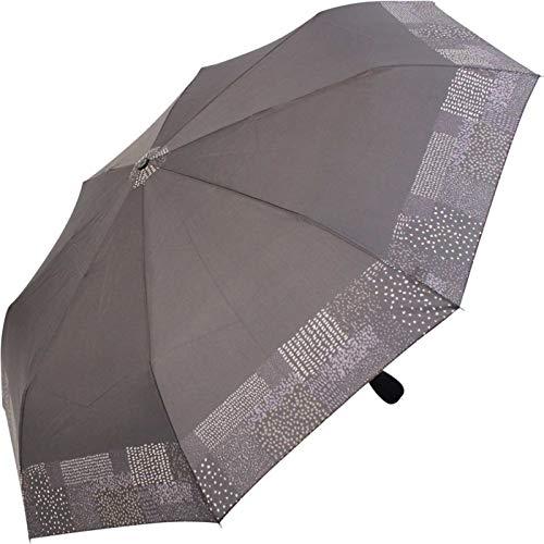 Pierre Cardin - Paraguas de bolsillo automático para mujer