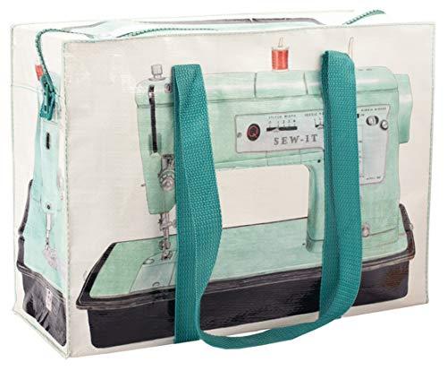 Blue Q Shoulder Totes: Hefty Zipper, Exterior Pocket, Reinforced Floor. (Sew-it)