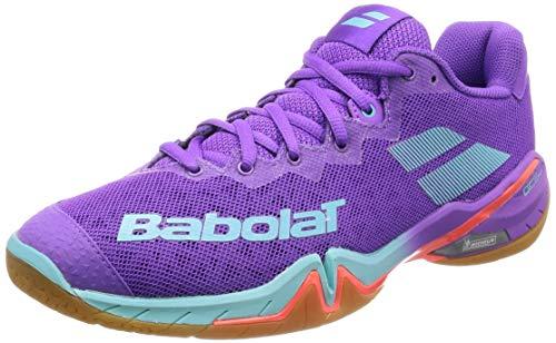 Babolat BAdmintonschuh Damen Shadow Tour Topmodell (38 EU)