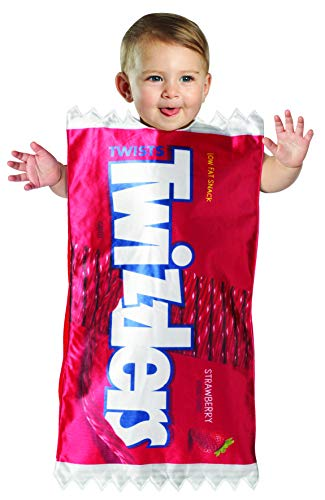 Hershey's Twizzlers Baby Bunting Candy Costume Hershey Boys Girls Size 3-9 Mos Red