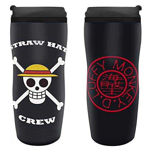 One Piece - Strohhut-Piratenbande - Thermobecher - Reisebecher