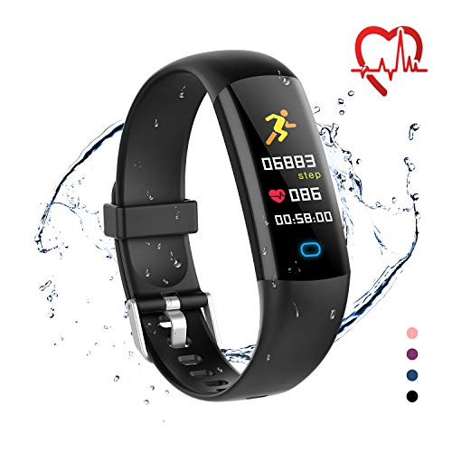 moreFit Fitness Tracker Health Watch, Kids Activity Tracker Calorie Watch with Sleep Monitor,  Waterproof Swimming Tracker Watch with Heart Rate Blood Pressure Monitor, Pedometer Watchfor Men Women