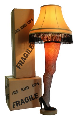 A Christmas Story Full Size 50' Deluxe Leg Lamp