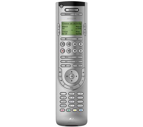 Logitech Harmony 515 Universal-Fernbedienung (LC-Display) Silber
