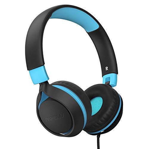 Kinder Kopfhörer,Mpow CH E1 kopfhörer Kinder,Kabelkopfhörer für Jugendliche mit Lautstärkebegrenzung,Faltbare einstellbare,für Schule,Reise,Kompatibel mit Handys,Tablets,PC …