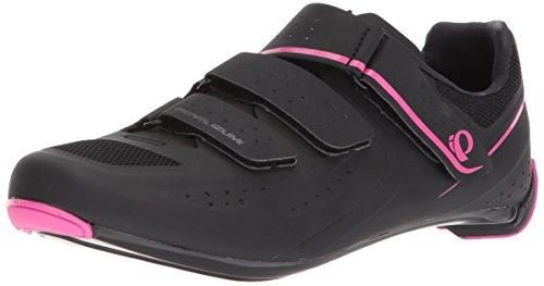 PEARL IZUMI Women's W Select Road v5 Studio Cycling Shoe, Black/Black, 43