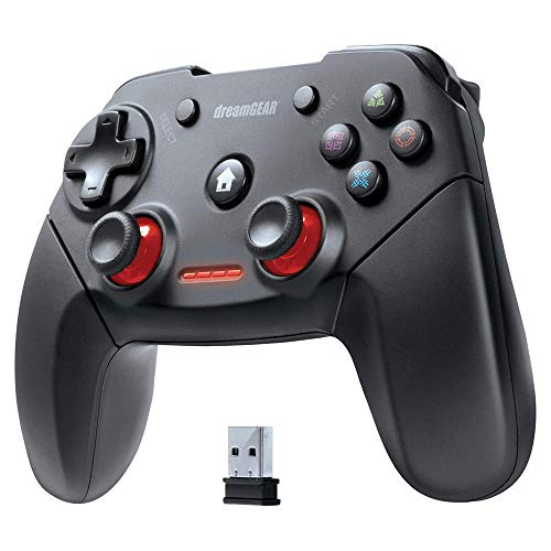 dreamGEAR DGPS3-3881 Shadow Pro Wireless Controller for PS3 & PC - PlayStation 3