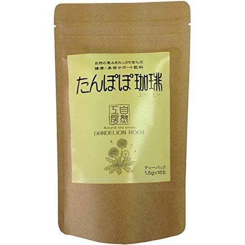 Maruhishi L?wenzahn Kaffee Teebeutel 1.5gX16 Follikeln