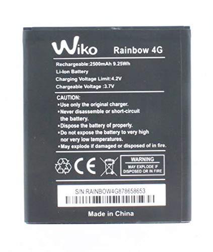 Original Akku für Wiko Rainbow 4G (Nicht Rainbow), Handy/Smartphone Li-Pol Batterie