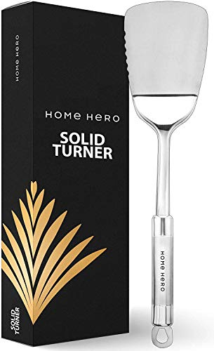 Stainless Steel Spatula Metal Spatula Flexible Spatula - Turner Spatula Stainless Steel Turner Steel Spatula Turner Cookie Spatula Pancake Spatula Pancake Flipper Stainless Steel Spatula for Cooking