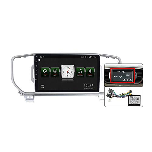Gokiu Android 10 Auto Audio Stereo GPS Navigatore con 9 Pollici Touch Screen per KIA Sportage 4 KX5 2016-2019, Supporto FM RDS DSP Radio/Bluetooth Steering Wheel Control/Carplay,Plug b,7731