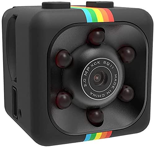Mini Spy Hidden Camera, Full HD 1080P Mini Car Hidden DV DVR Camera Spy Dash Cam IR Night Vision (Black)