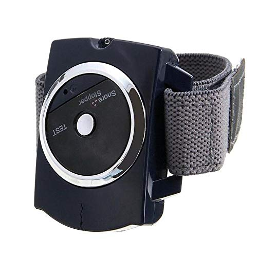Pulsera antirronquidos Mini tapón de ronquido electrónico Reloj pulsera antirronquidos 1 pieza