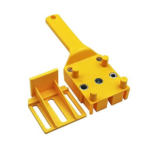 Doweling Jig 6/8/10 mm Wood Dowelling Drill Guide Wood Dowel Puncher Locator Drilling Doweling Hole Saw Tools