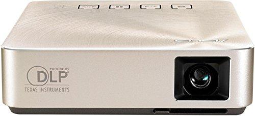 Asus S1 ZenBeam Premium LED-Beamer (HDMI/MHL, USB, 854 x 480, Batterie) silber