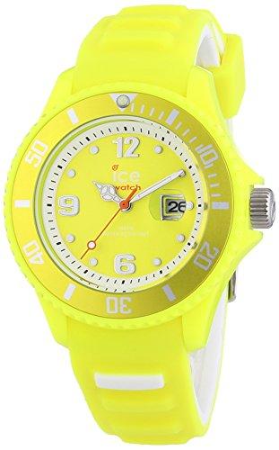 Ice-Watch Damen-Armbanduhr Ice-Sunshine Analog Quarz Silikon Sun.NYW.S.S.14