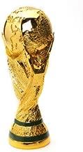 Wanson World Cup Trophy Replica Football Fans Souvenir FIFA 2018 Russia World Cup Model Gift Plating Football Medal Model 3D Gold Resin Handicraft,S