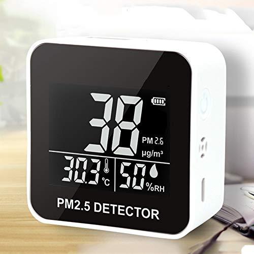ZJH Die Luftqualität Detektor, Digital Air Quality Monitor Laser PM2.5 Erkennung Gas Monitor/Gas Analyzer/Temperatur Hygrometer Diagnosewerkzeug