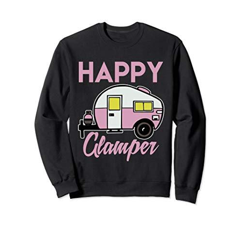 Funny Pink Camper Van - Cute Cool Tee Sweatshirt