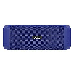 boAt Stone 650 Portable Wireless Speaker with 10W Stereo Sound, Powerful Bass, IPX5 Water & Splash Resistance, Multiple Connectivity Modes and Up to 7H Playback (Blue),boAt,Stone 650