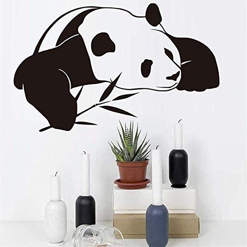 Muursticker Chinese Panda Muursticker S Kinderkamer Leuke Dier DIY Behang Waterdicht Zelfklevende Muurstickers Huisdecoratie 59 * 37Cm