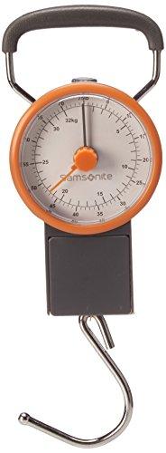 Samsonite - Báscula Manual para Equipaje, 21 cm, gris con naranja