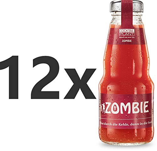 Cocktail Plant Zombie (10,1% Vol) 12x 0,2l = 2,4l - inkl. Pfand MEHRWEG - [Enthält Sulfite]