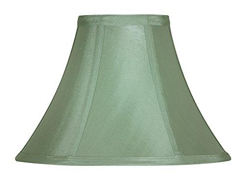 Oaks Lighting - Paralume in seta sintetica, modello Empire, 30 cm Verde salvia