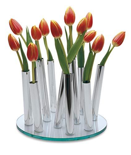 Philippi - Bouquet Vase - Designervase für ihre Kreativität - Jede Blüte hat Seine eigene Minivase - Ensemble selbst gestalten mit Rosen, Tulpen oder Lilien