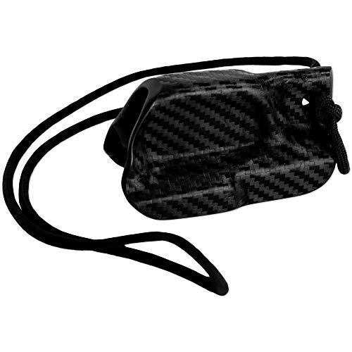 Kydex Holster for Sig P365XL & P365 Trigger Guard Pistol 365 XL Lanyard Rip-Away Pocket IWB Carbon Fiber