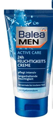 Balea MEN Tagespflege active care 24h feuchtigkeitsspendend, 75 ml