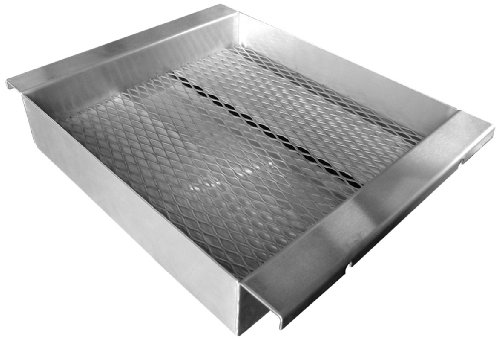 """Cal Flame BBQ11859 BBQ11859 Charcoal Tray 13⅝"""" x 17⅝"""" x 3"""" Stainless Steel"""
