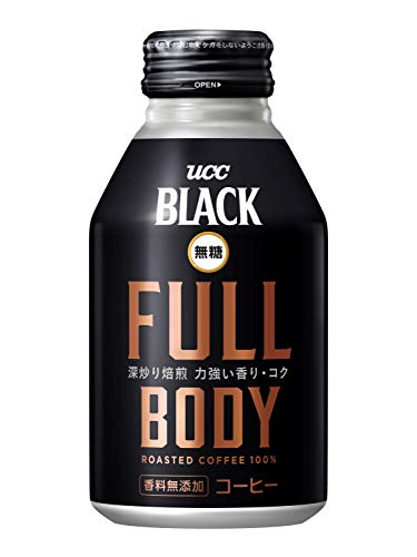 UCC 『ブラック無糖 フルボディ 缶コーヒー』