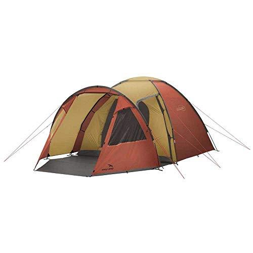 Easy Camp Eclipse 500 500-Tienda de campaña (5 Personas), Color Dorado, Unisex, Oro y Rojo