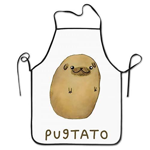 surce Delantales de Cocinero Ajustables Pug Nariz Patata Pugtato ...