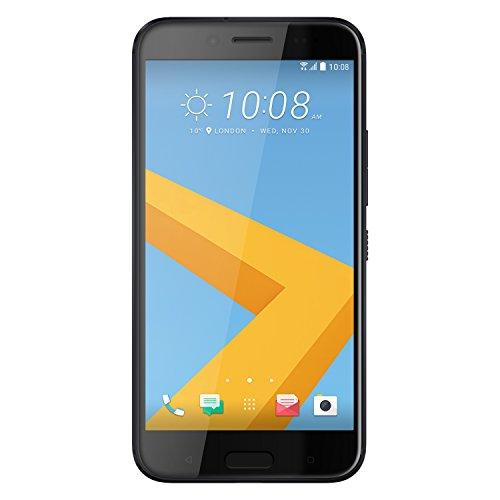 HTC EVO 10 Smartphone (14 cm (5,5 Zoll) Quad HD, 2560 x 1440 Pixel, 16 MP Kamera, 4K Videoaufnahme, 32 GB, Android) gusseisern