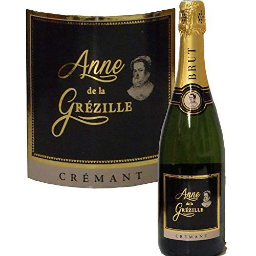 Crémant de la Loire 0,75 l Anne de Grézilles brut