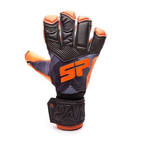 SP Fútbol Pantera Fobos Protect, Guante de Portero, Black-Orange, Talla 9