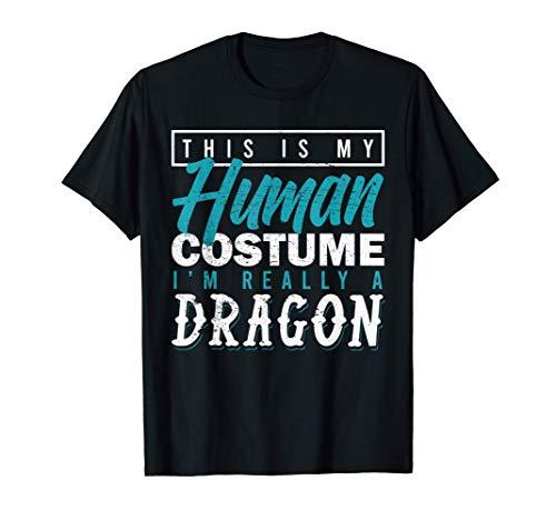 Disfraz Humano Dragn Respiracin de Fuego Camiseta