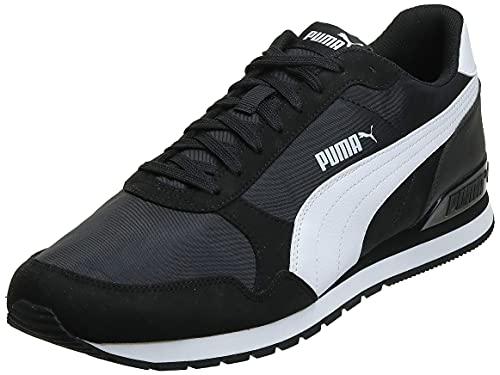 Puma St Runner V2 NL, Scarpe da Ginnastica Unisex-Adulto, Nero Black White, 41 EU
