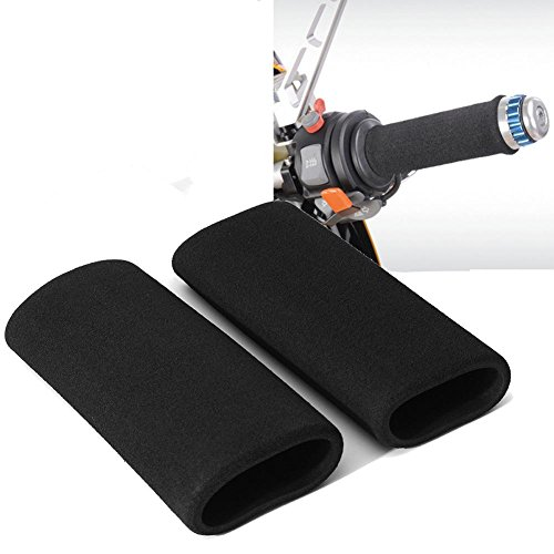 per 2pcs Cubiertas para Manillares de Moto Bicicleta Cibierta Puño para Vehículos Protector para Agarres Moto