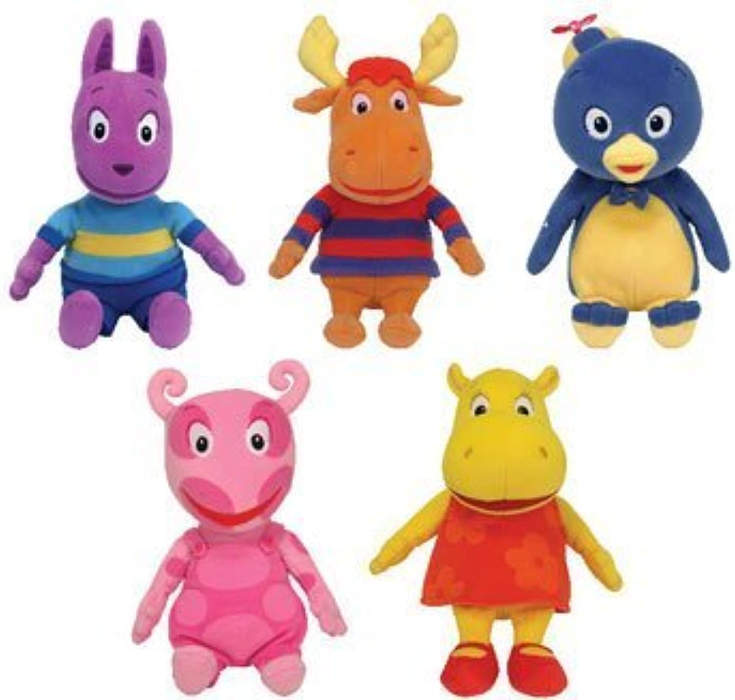 Ty Backyardigans Beanie Baby Set of 5 Beanie Babies by TY