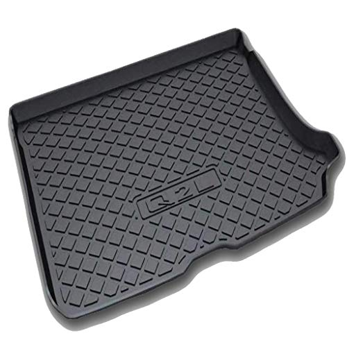 LXJ-LD Custom Tailored Fit for Au-di Q3/A6L/A4L/S4/Q5/A3 2009 to 2021 Black Rubber Boot Liner Tray Mat Front And Rear Trunk Mats Floor Mat,Q2L with net pocket