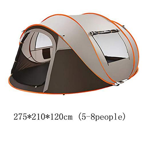 LONGTAP Tent, Compact Dome Tent 3-4, 5-8 Person Large Family Waterproof Lightweight Camping Tent for Camping Hiking Travel Climbing - Easy Set Up (Regular design,245 * 150 * 115cm(3-4people))