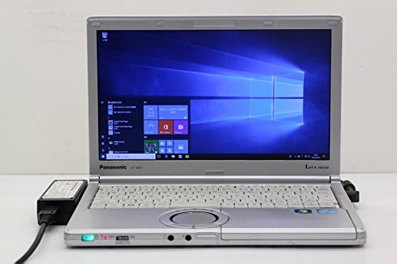 息切れディスパッチメニュー【中古】 Panasonic CF-NX1GWGYS Core i5 2520M 2.5GHz/4GB/250GB/12.1W/WXGA++(1600x900)/Win10
