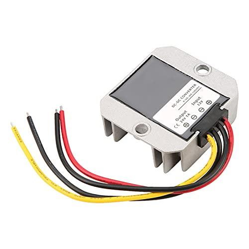Regulador de voltaje, convertidor de impulso a prueba de agua IP68 de alta eficiencia 1A 24W Carcasa de aluminio 12V a 24V para control automático