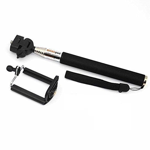 C63®–BlackBerry Z10allungabile Selfie portatile Stick monopiede Con Supporto Per Telefono regolabile