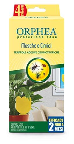Orphea Insetticida, Trappole Adesive Cromotropiche Senza Veleno. Azione Naturale e Inodore Contro...