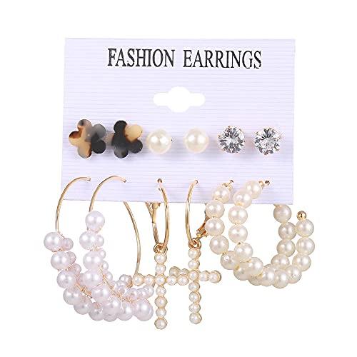 Pendientes De Anzuelo Triangle Susu Ear Nail Set Butterfly Crystal Wrap Pendientes Pendientes-Metro